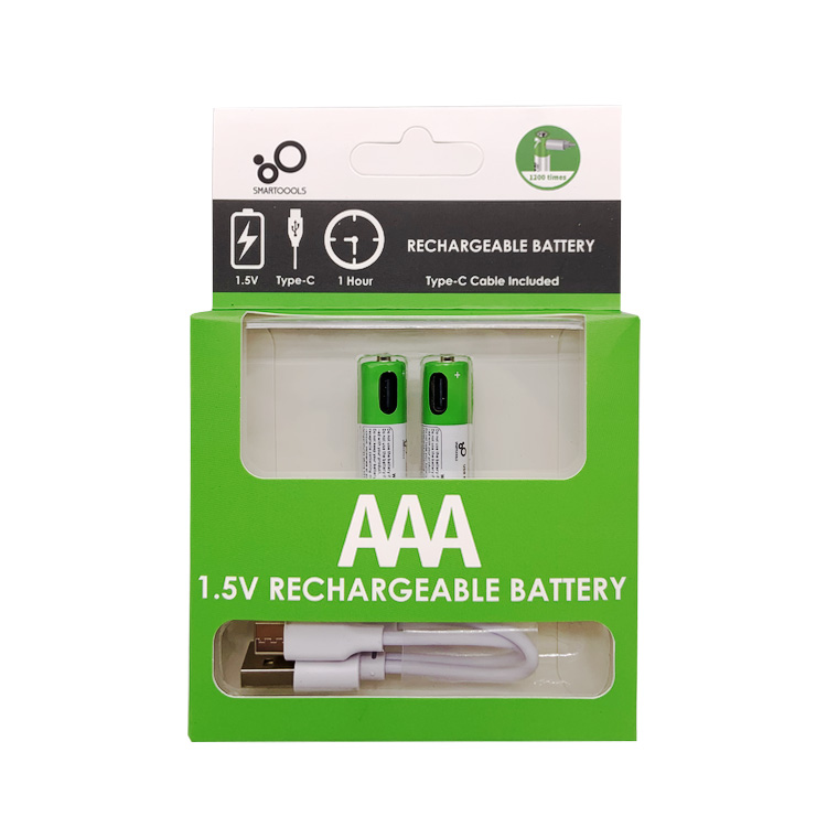 Type-C Lithium AAA  1.5V Rechargeable Battery(图8)