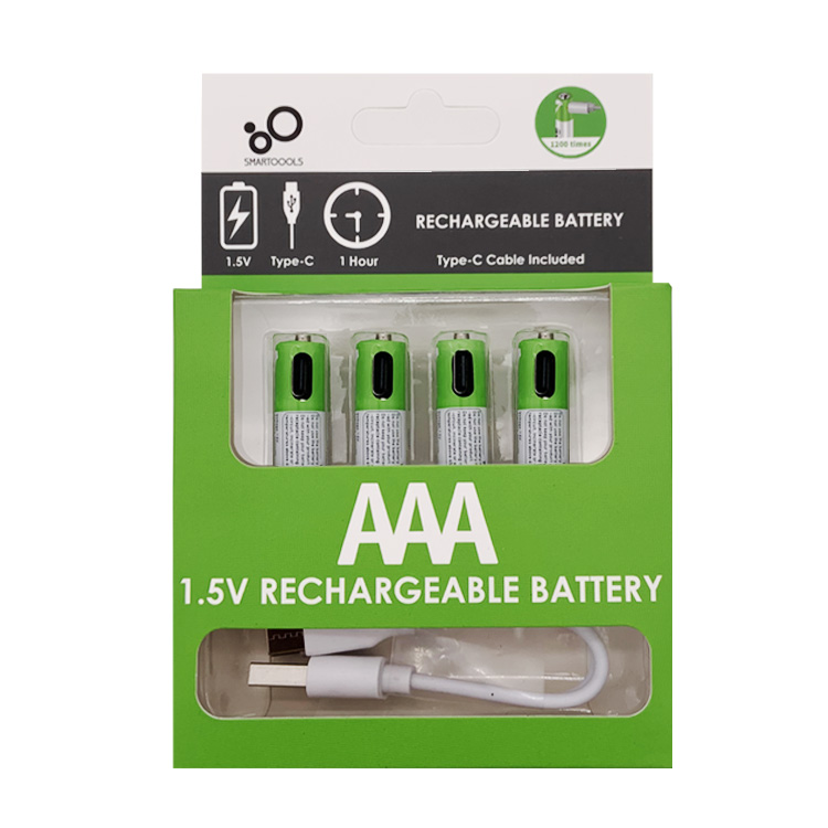 Type-C Lithium AAA  1.5V Rechargeable Battery(图7)